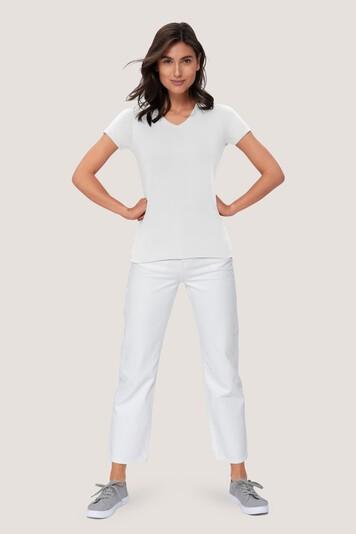 HAKRO Damen V-Shirt Mikralinar® PRO