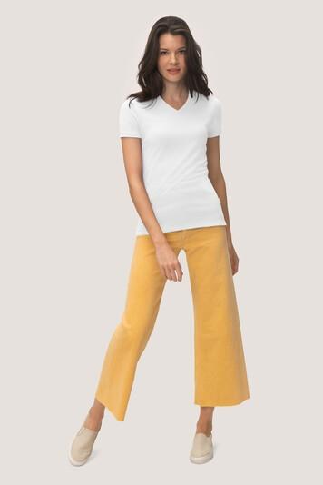 HAKRO Cotton Tec Damen V-Shirt